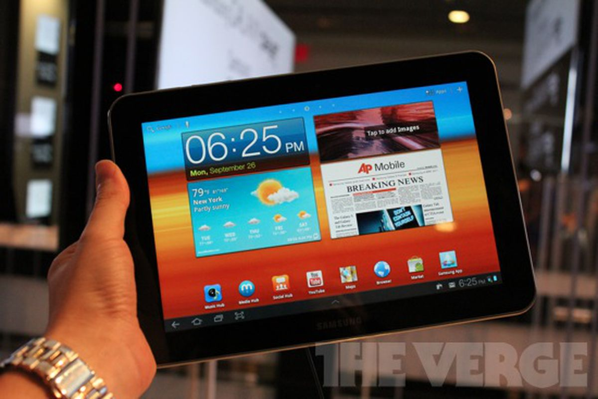 Galaxy Tab 8.9 hands-on