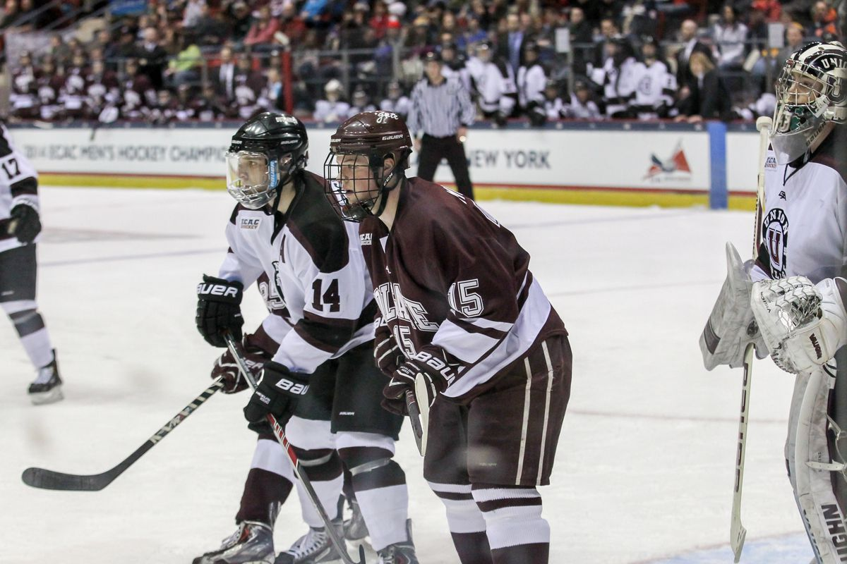 Darcy Murphy (15) scored two goals for Colgate.