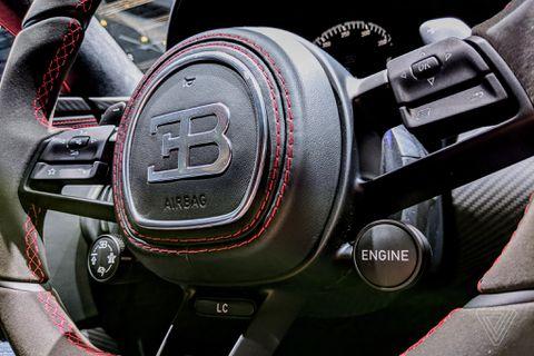 Sitting inside Bugatti's new $3m Chiron didn't make me a