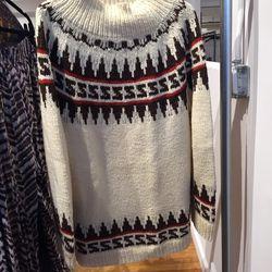 Vintage wool sweater, $30