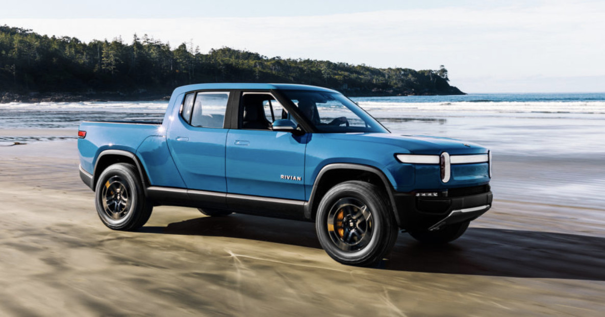 Rivian raises $2.5 billion ahead of launch of electric pickup and SUV thumbnail