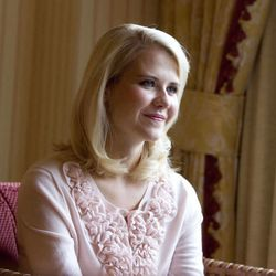 Elizabeth Smart is interviewed in Salt Lake City on Wednesday, May 18, 2011. Smart is now engaged and plans to be married this summer.