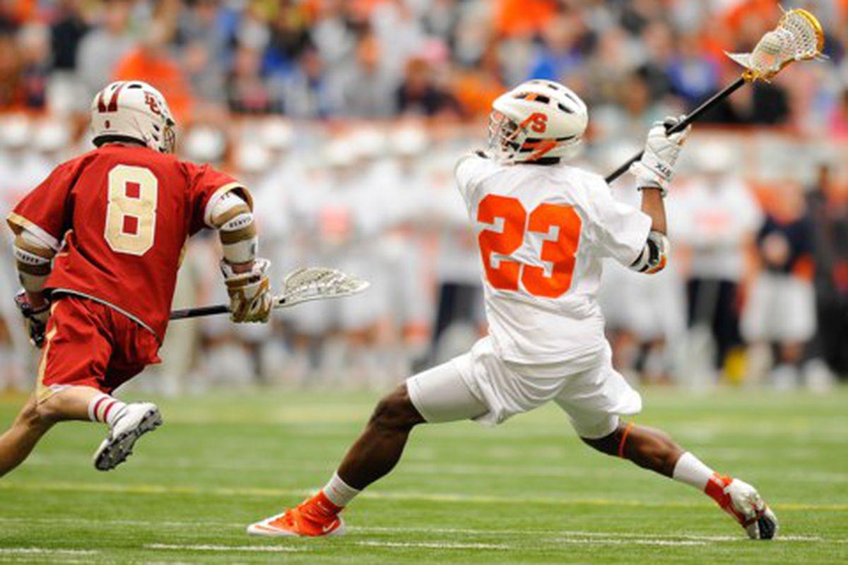 Jovan Miller and the Orange took it to Denver 13-7