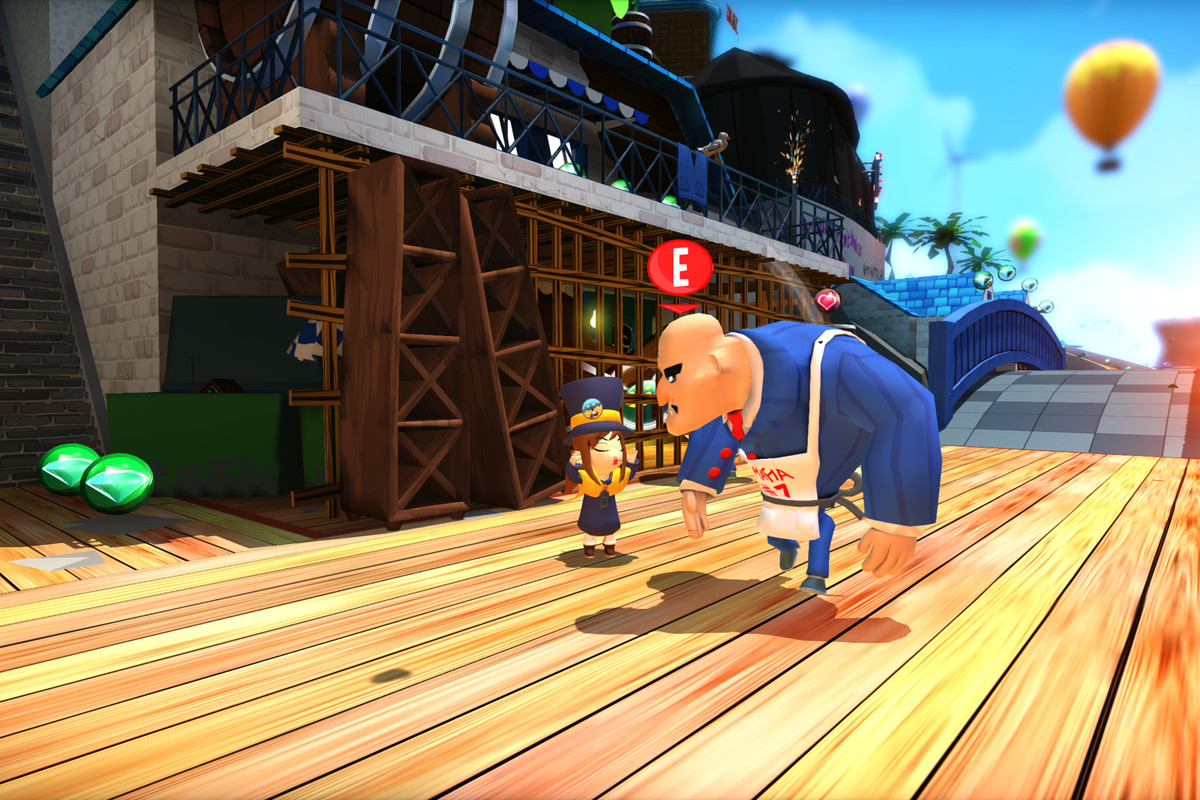 A Hat In Time Is A Tribute To 3d Platformers Of Yore Polygon