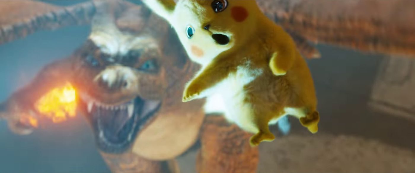 Detective Pikachu Trailer Here S Every Live Action Pokemon Cameo