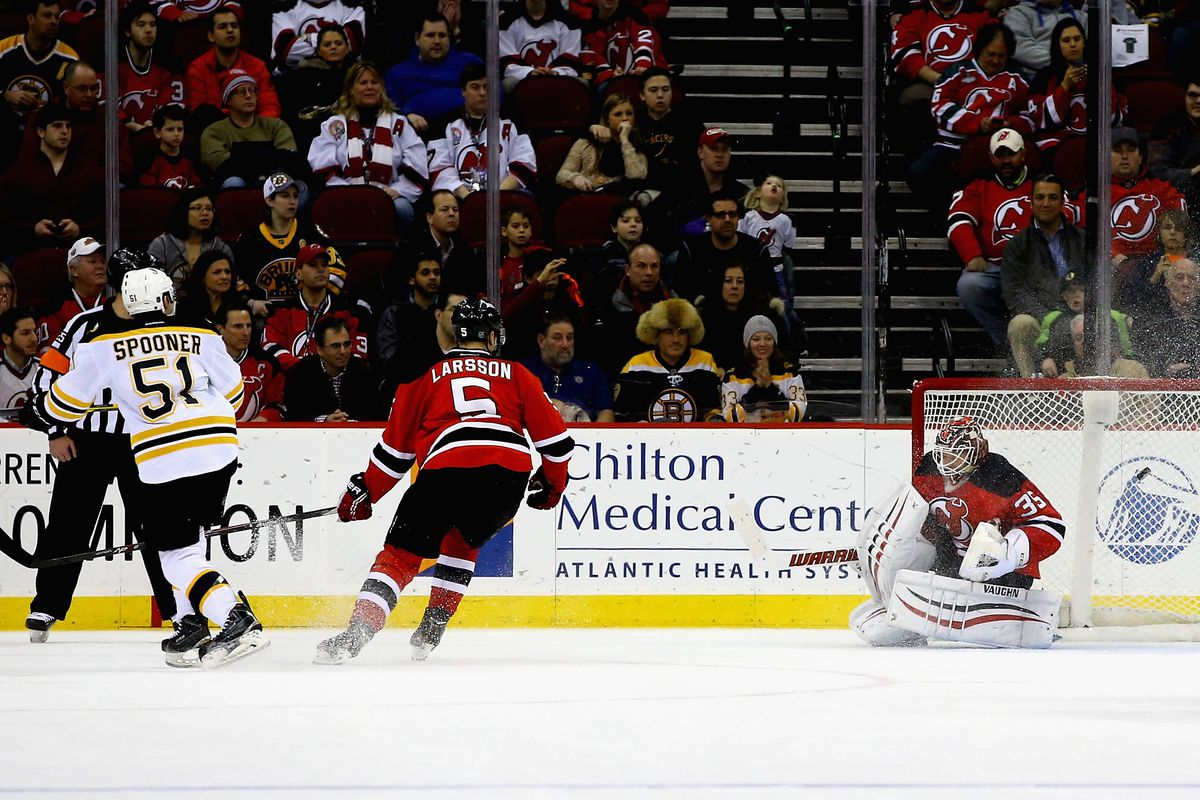 The last Devils-Bruins game didn't end so well.