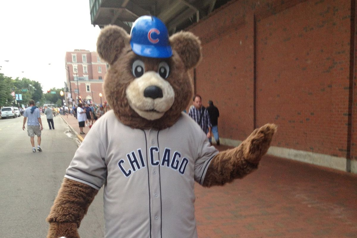 Billy Cub in his Home Grays