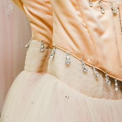 There are around ten of the Sugar Plum Fairy's solo dress, each tailored to different dancers who share the role.