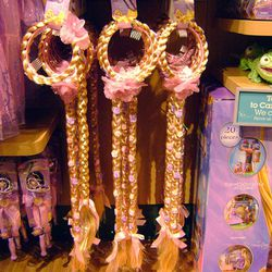 A headband-thing to pretend you're Rapunzel.