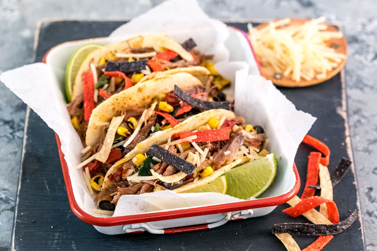Tacos from Schlotzsky's Austin Eatery