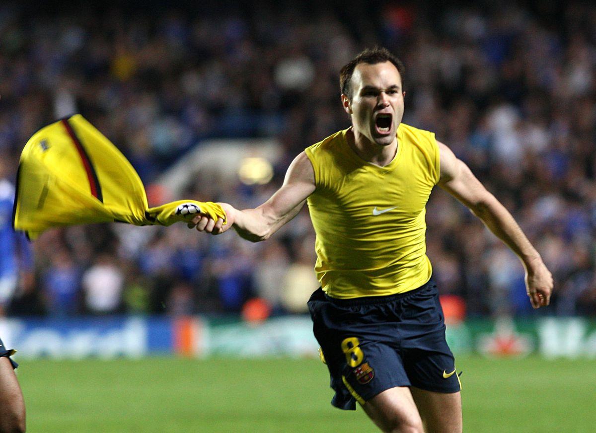 Soccer - UEFA Champions League - Semi Final - Second Leg - Chelsea v Barcelona - Stamford Bridge