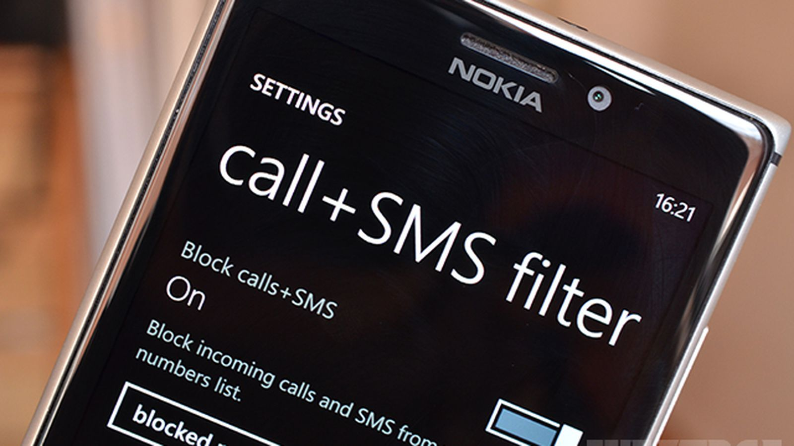 Windows Phone Gets Text And Call Blocking With Latest Nokia Update  The  Verge