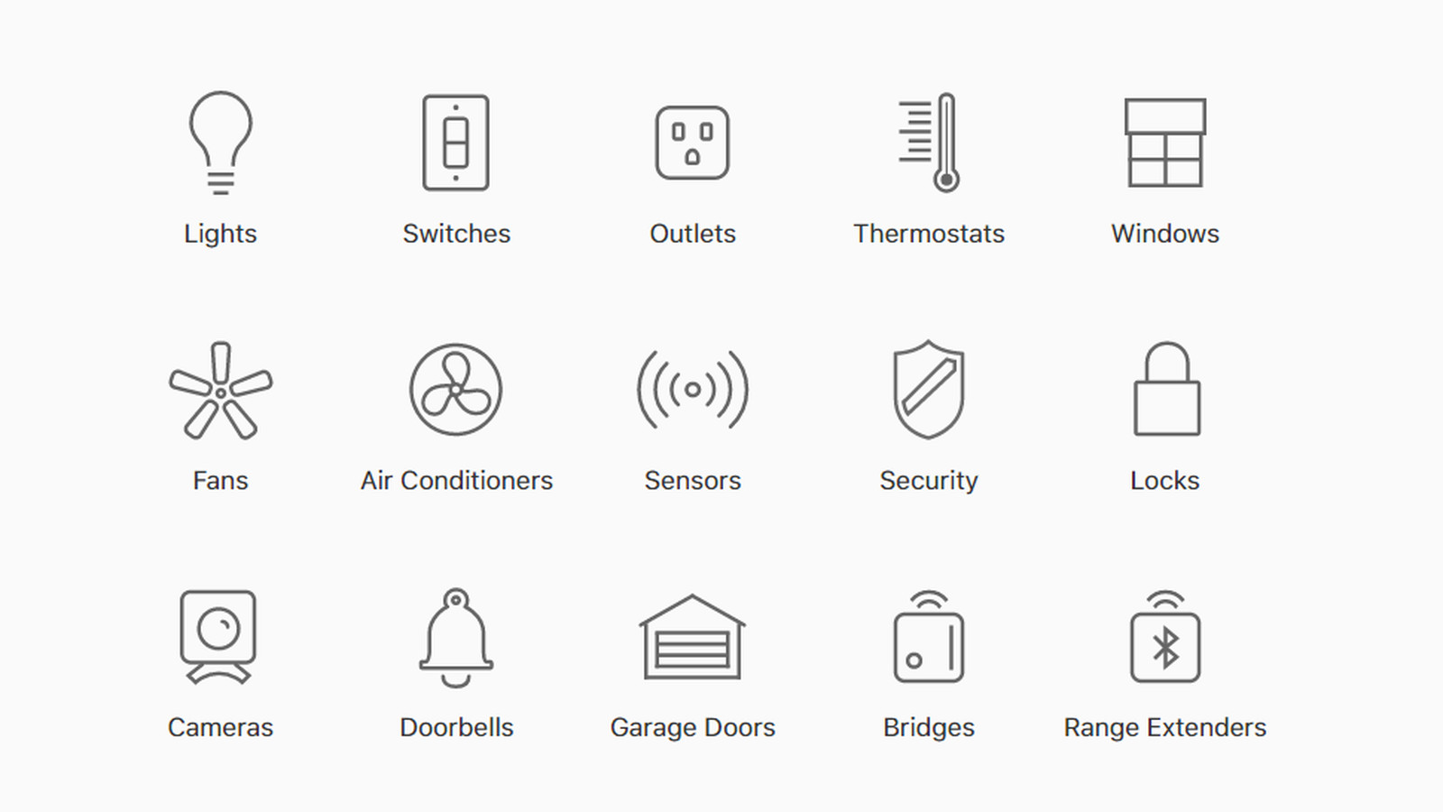 apple u2019s website now has a useful list of smart home gadgets that work with homekit