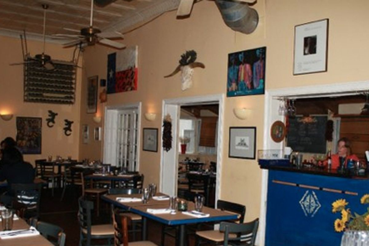 The dining room at the Georgia Grille.
