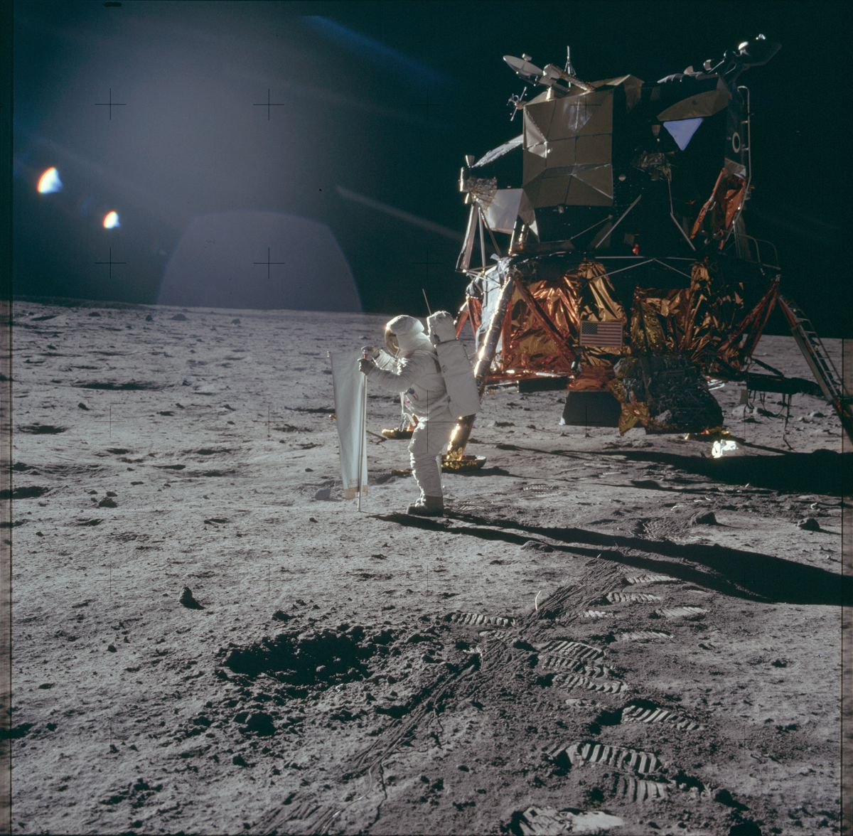 Apollo 11 anniversary: Astronauts left their poop on the moon  NASA