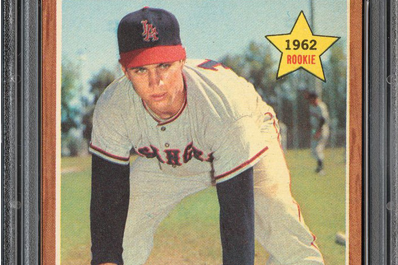 The Year In Cards 1962 Rigs Big Yost Is Most Halos Heaven