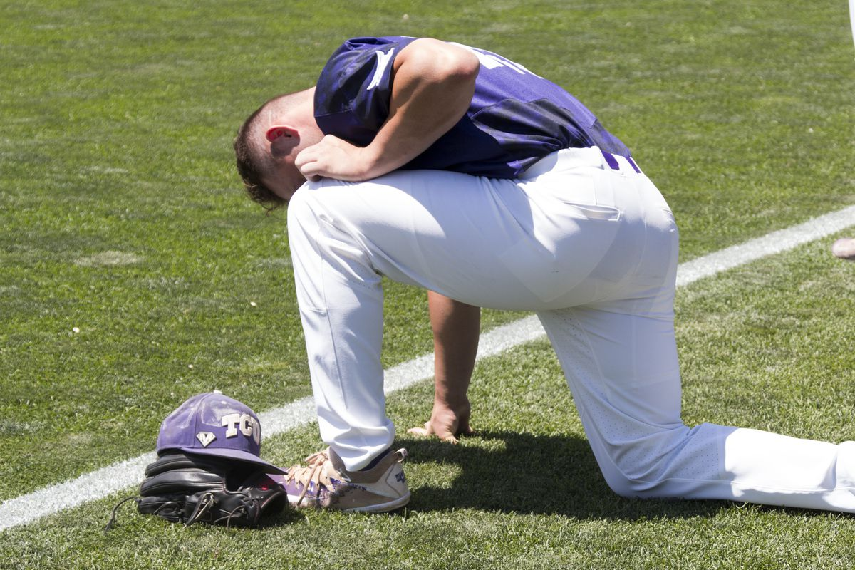 TCU Baseball vs Texas A&M, College World Series