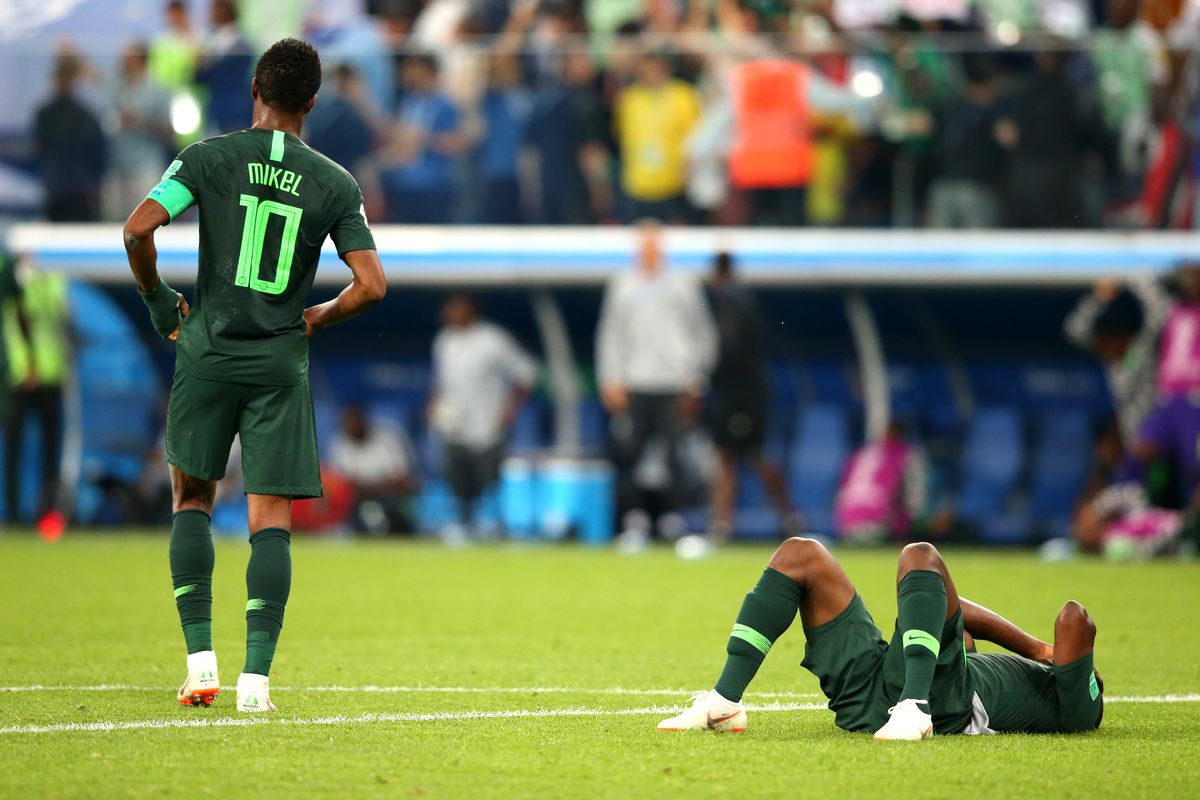 a09474d7482 World Cup 2018: Nigeria always loses to Argentina and I'm sick of it ...
