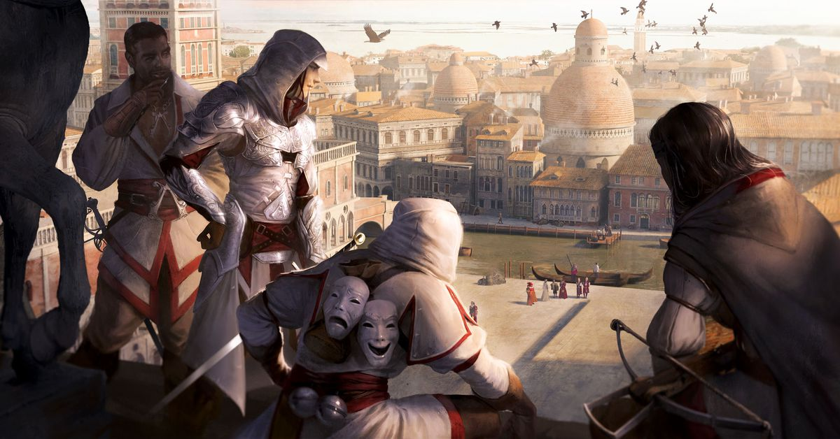The Assassin's Creed board game is pretty, but slow ...