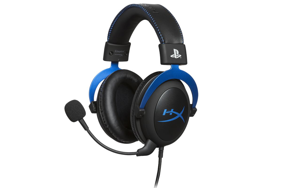 HyperX is releasing a PS4-themed version of its Cloud gaming headset - The  Verge