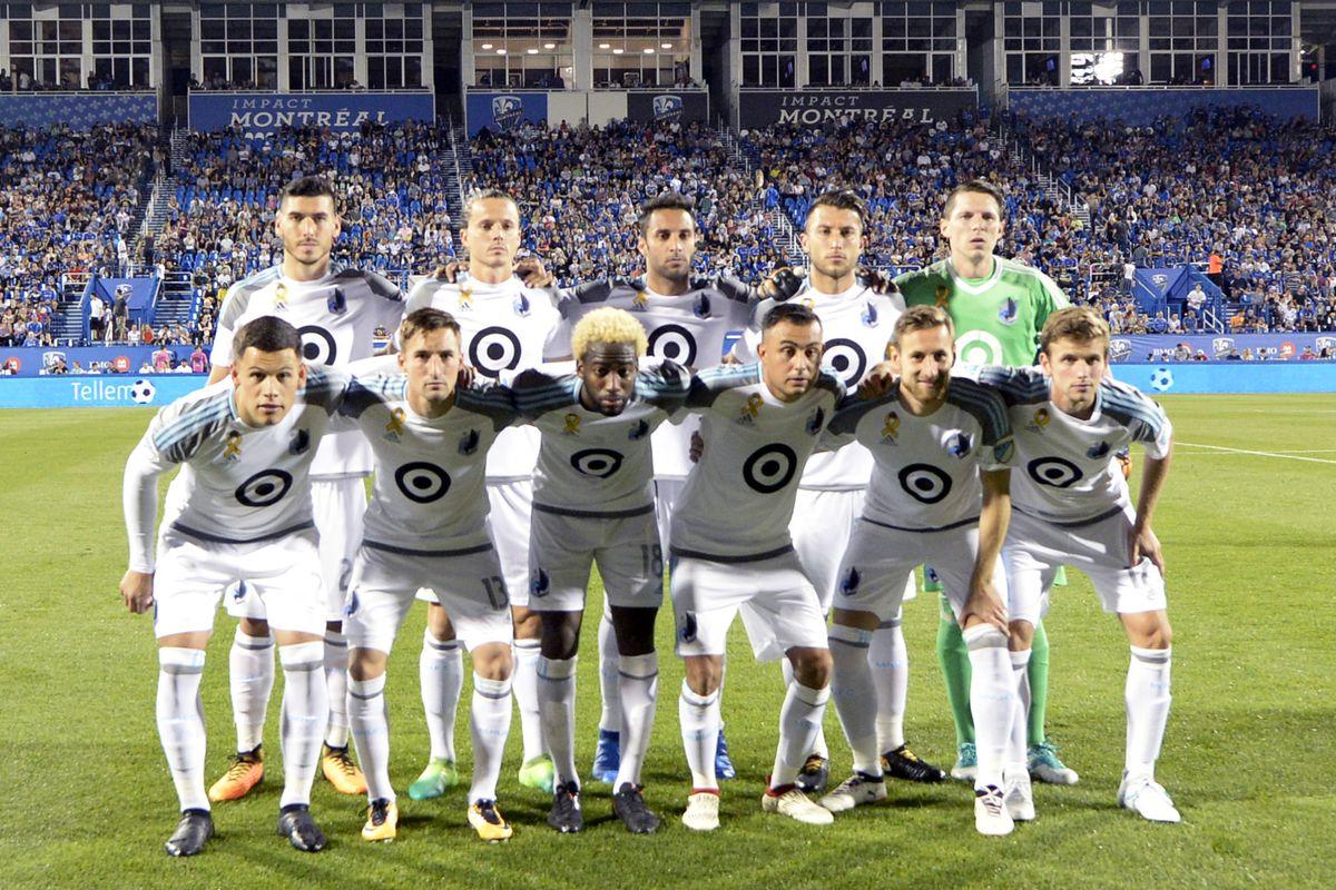 MLS: Minnesota United FC at Montreal Impact
