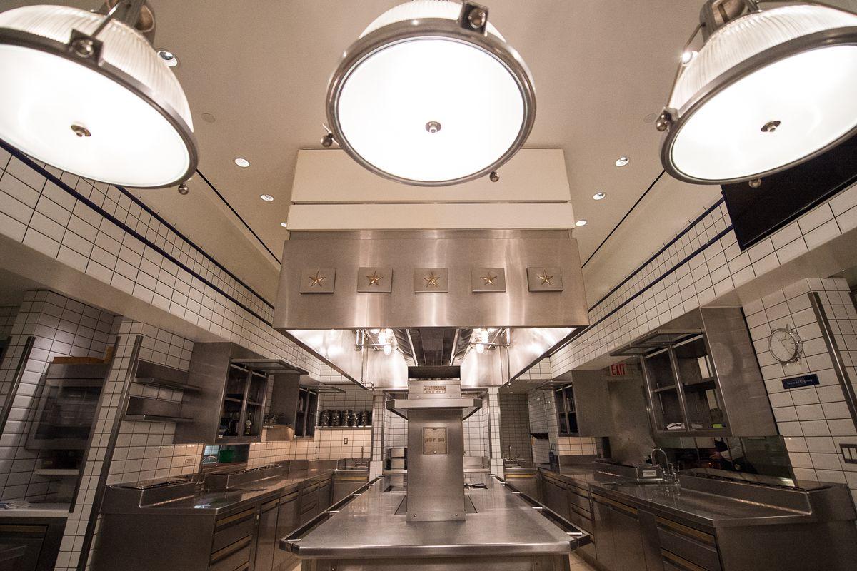 [The kitchen at Per Se]