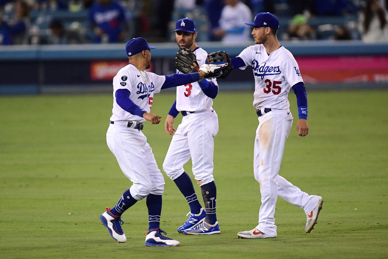 MLB: NLDS-San Francisco Giants at Los Angeles Dodgers