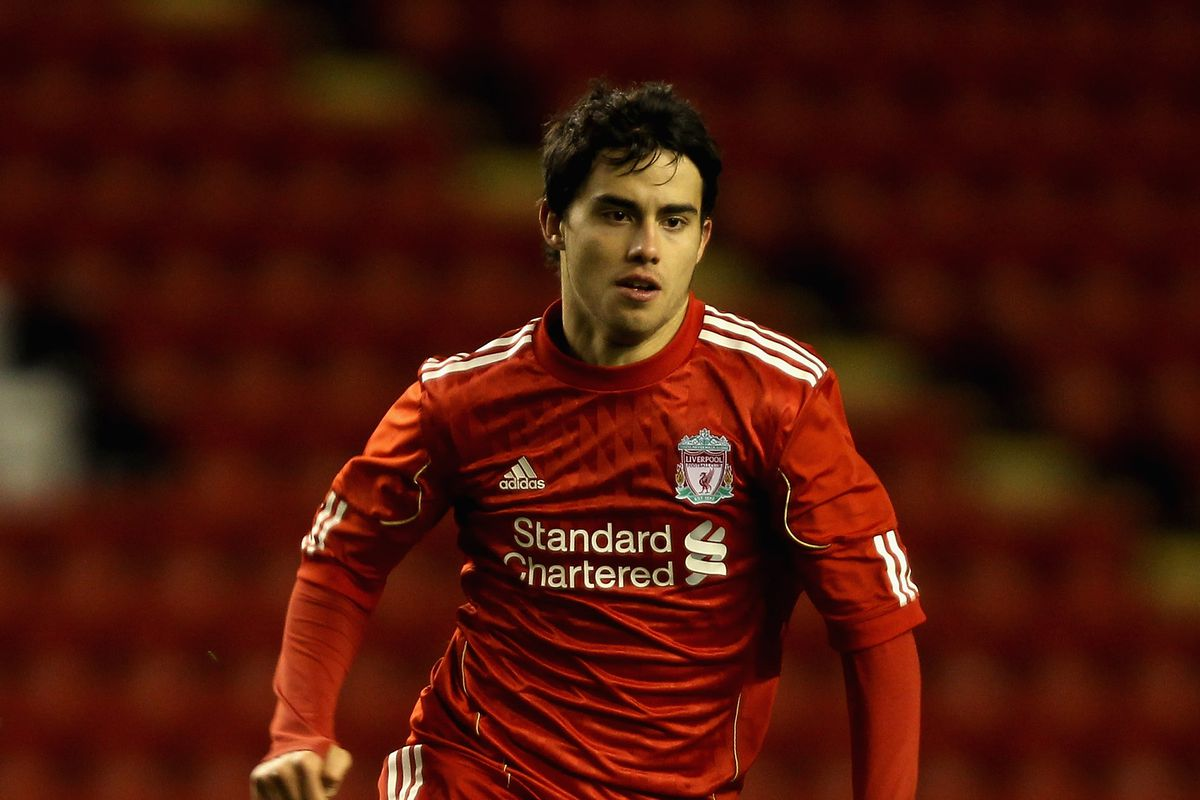 Suso, in his Liverpool days