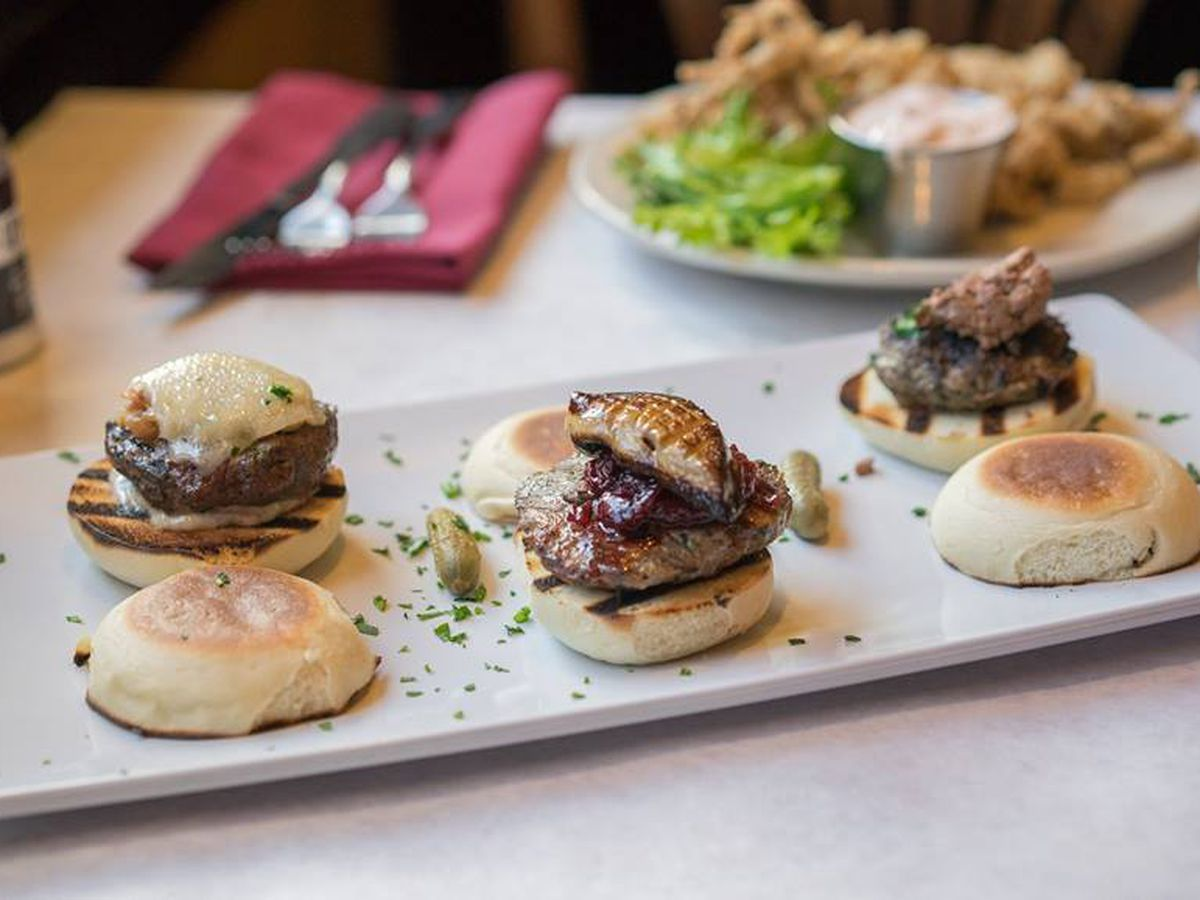 Sliders At Leunig S Bistro