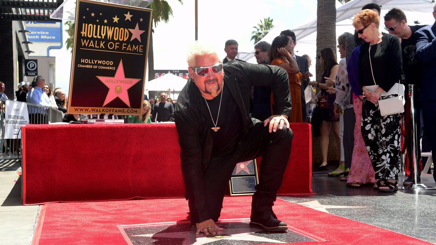 Guy Fieri Got A Star On The Walk Of Fame, Celebrate Him With These Gifs