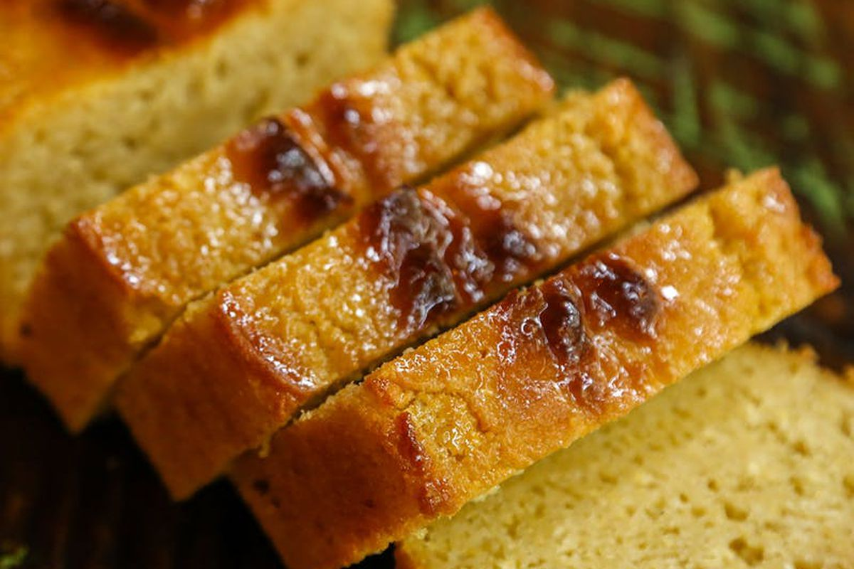 A loaf of cornbread from Willia Jean