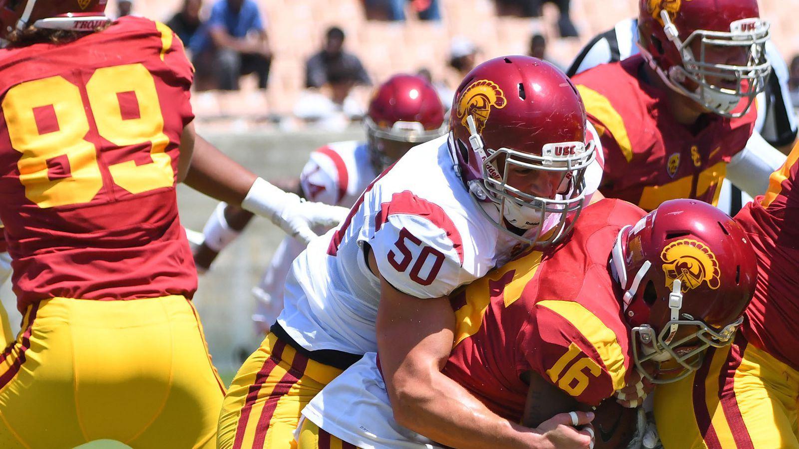 The official Football page for the University of Southern California Trojans