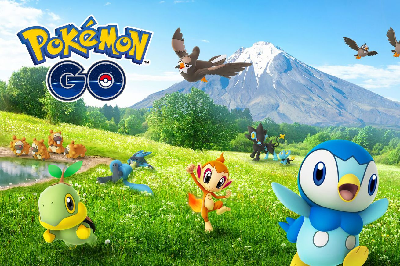 fourth generation pokmon are coming to pokmon go this week