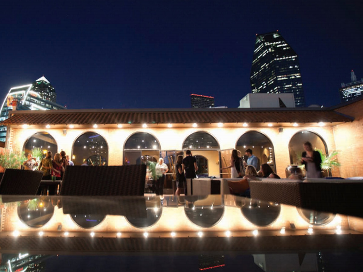 19 Iconic Dallas Dishes to Try Before You Die. The rooftop deck at El Fenix  downtown.