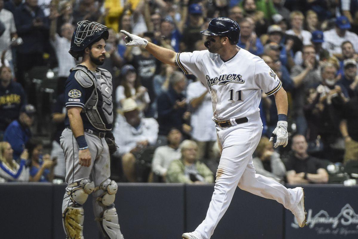 MLB: San Diego Padres at Milwaukee Brewers