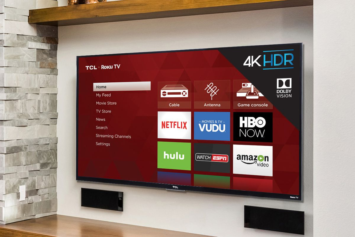 Tcl S 55 Inch Roku P Series Tv Is On Sale At Best Buy Today For 499 99 The Verge