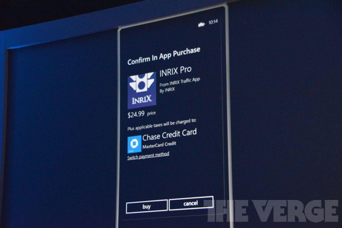 Gallery Photo: Windows Phone 8 Wallet and NFC liveblog photos