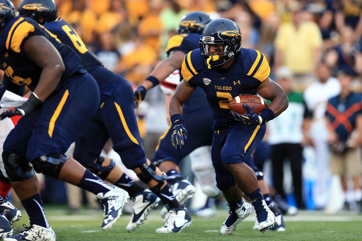 NCAA Football: Stony Brook at Toledo