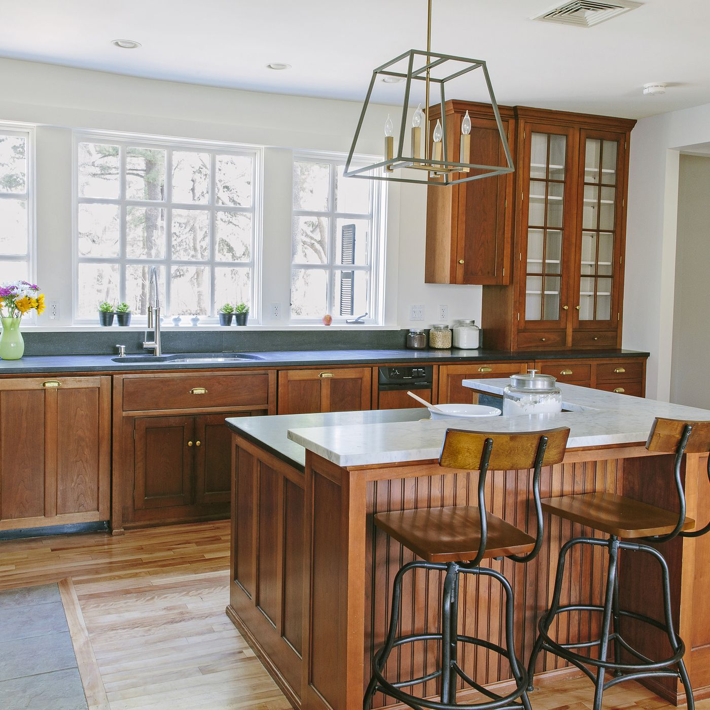how to run electricity to your kitchen island - this old house  this old house