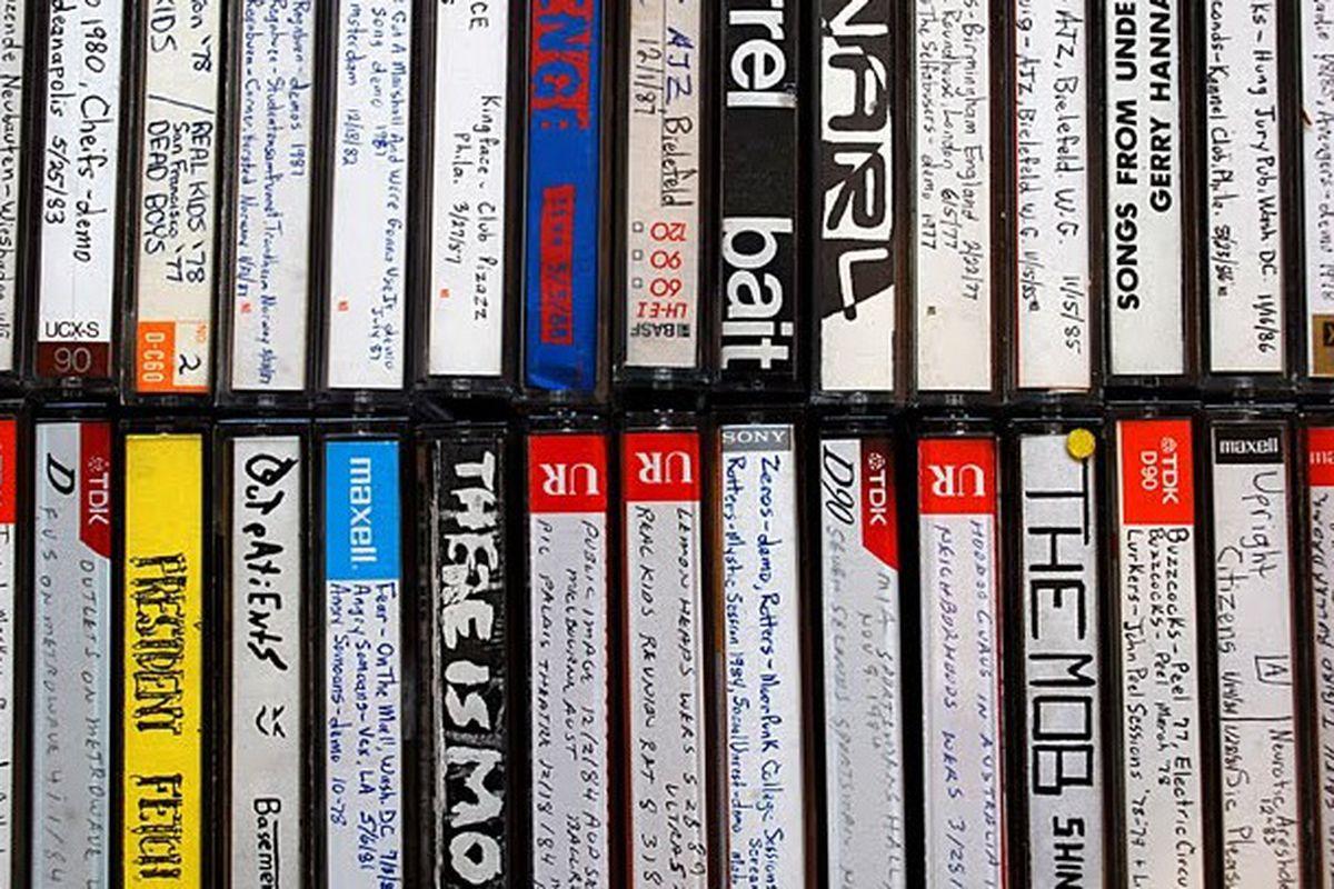 Bootlegged cassette tapes