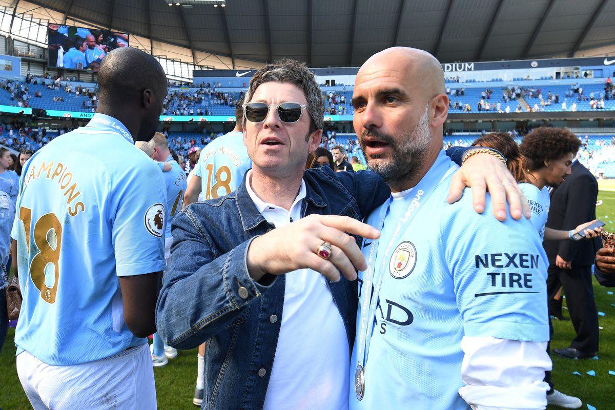 Noel Gallagher speaks to Josep Guardiola - Manchester City - Premier League