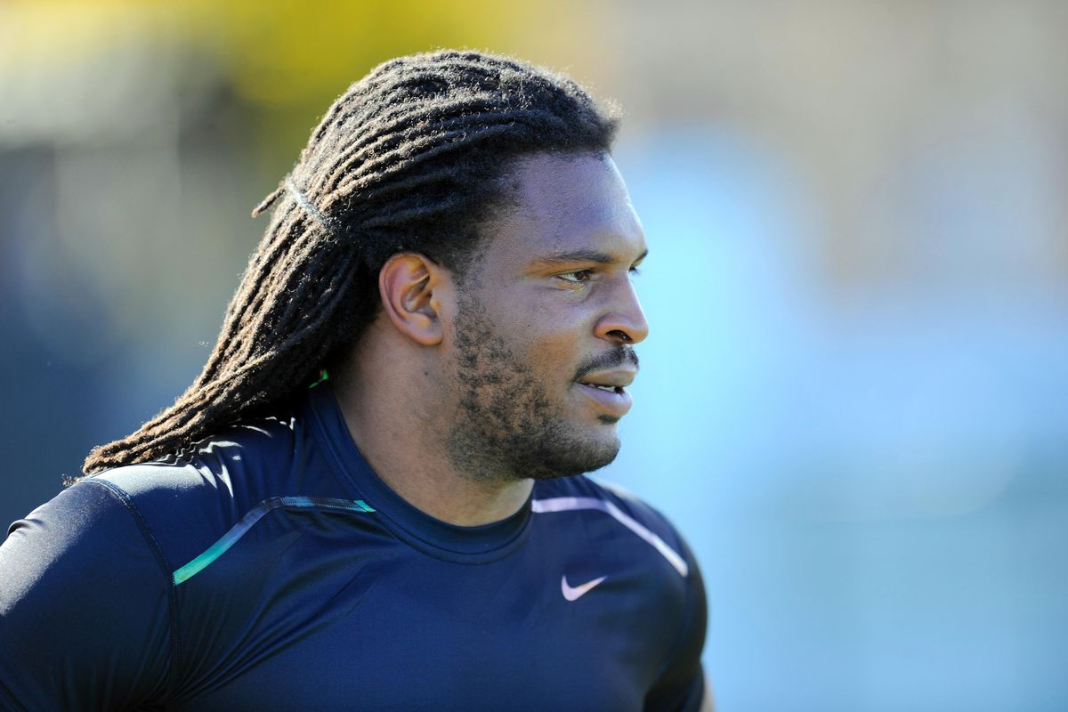 Jarvis Jones at the Georgia Pro Day
