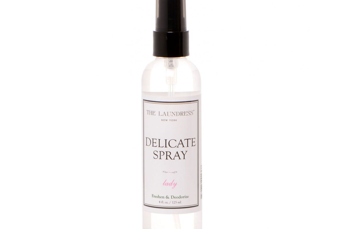 """The Laundress Delicate Spray, <a href=""""http://www.thelaundress.com/delicate-spray"""">$10</a>"""