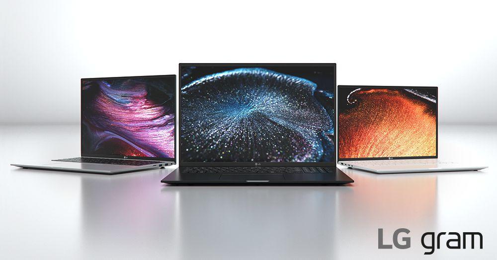 LG's 2021 Gram laptops feature Intel's 11th-Gen processors