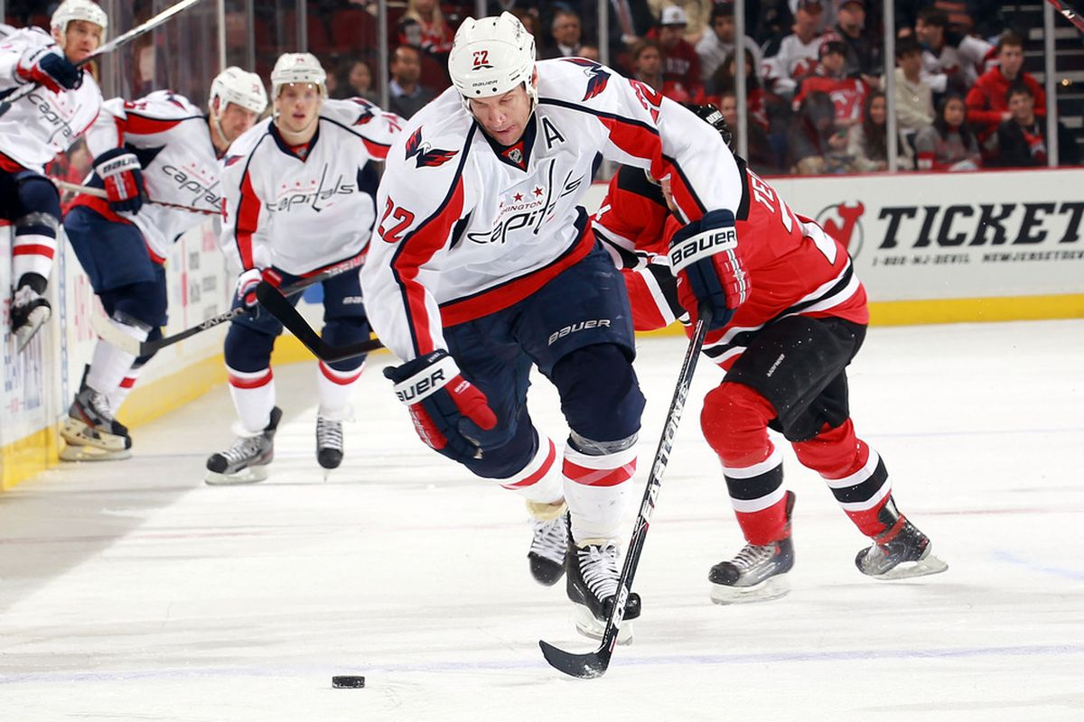 Washington Capitals winger Mike Knuble plays in his 1,000th NHL game tonight.