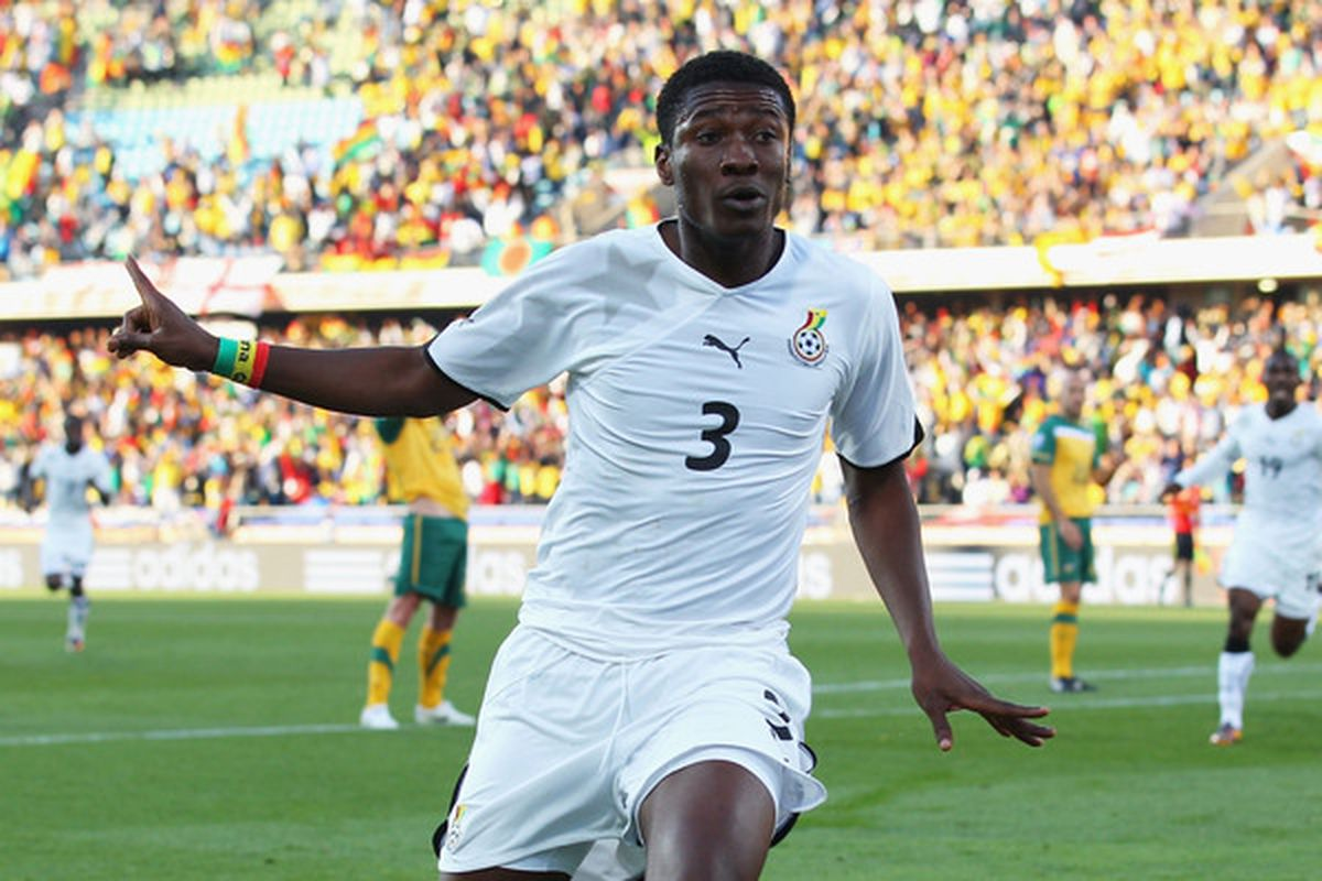 As far as big names go signing for Sunderland, is Asamoah Gyan the biggest one so far?