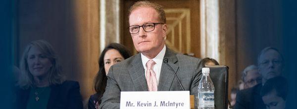 FERC chair Kevin McIntyre