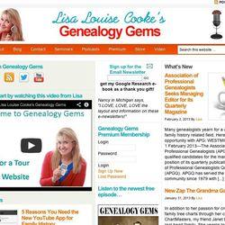 Lisa Louise Cooke is an avid genealogist and multimedia guru.