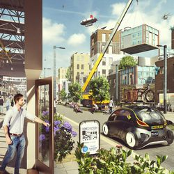 Hawkins\Brown's Heathrow City custom housing on-demand