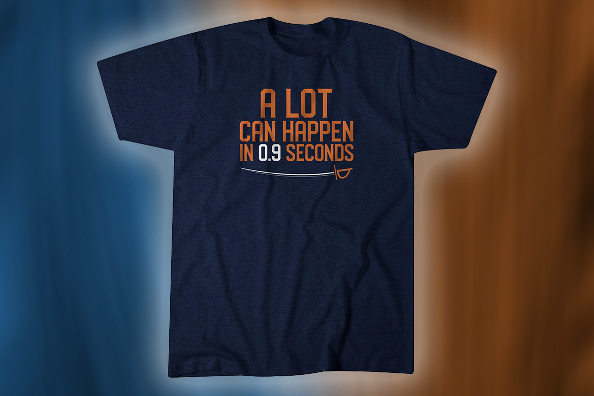 82261b7e Fan t-shirts to commemorate those incredible 0.9 seconds ...